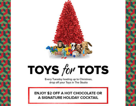 Toys for Tots Unscripted Durham