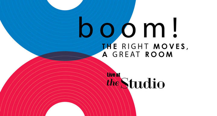 Boom! The Right Moves, A Great Room; Live at the Studio